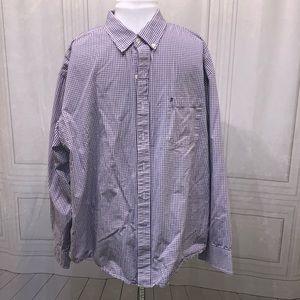 Izod Long Sleeve Button Down Shirt